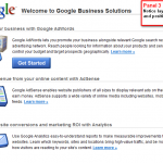 Google Business Solutions Test Panel 3
