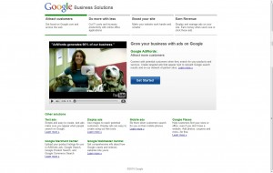 Google Business Services page test - page C